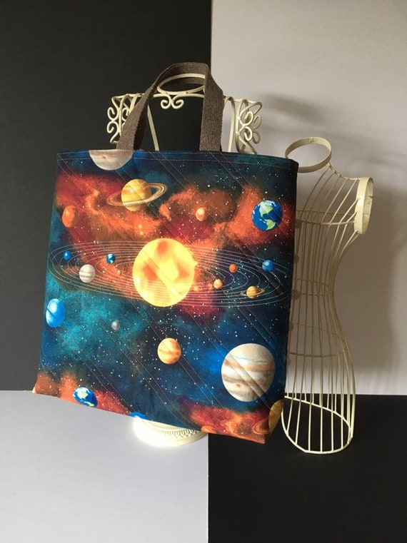 SB016 - Planets large tote bag!