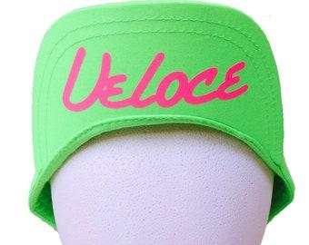 c85fda3982b36 90 s Style Fresh Prince Hat in Neon Green