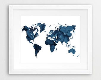 Map Of Watercolor Florida.Florida Map Watercolor Print Usa State Florida Silhouette Etsy