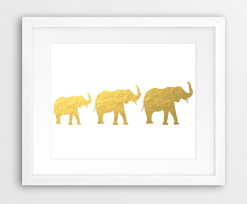 picture about Silhouette Printable Gold Foil known as Elephant Printable, Gold Elephant Print, A few Elephants Silhouette Gold Foil Texture, Gold Pets Wall Artwork, Nursery Decor, Electronic Print