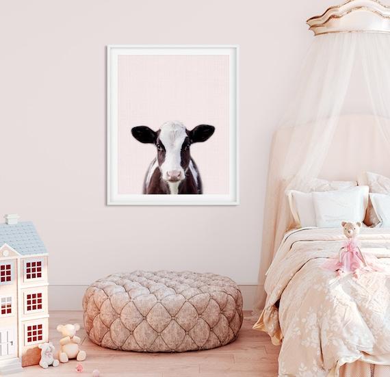 Fine Baby Cow Print Pink Nursery Wall Art Farm Animal Prints Nursery Decor Baby Animals Girl Nursery Pink Decor Girls Room Printable Art Evergreenethics Interior Chair Design Evergreenethicsorg