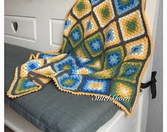Gradient Patchwork Baby blanket