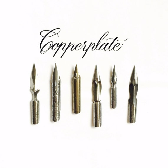 classic copperplate nibs series 1 etsy