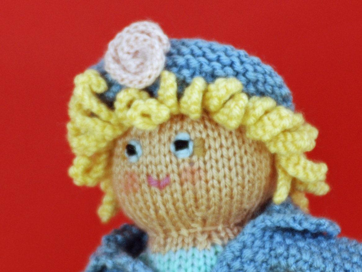 69d5945b5 Blondie a toddler s doll in a deep aqua skirt blue hat