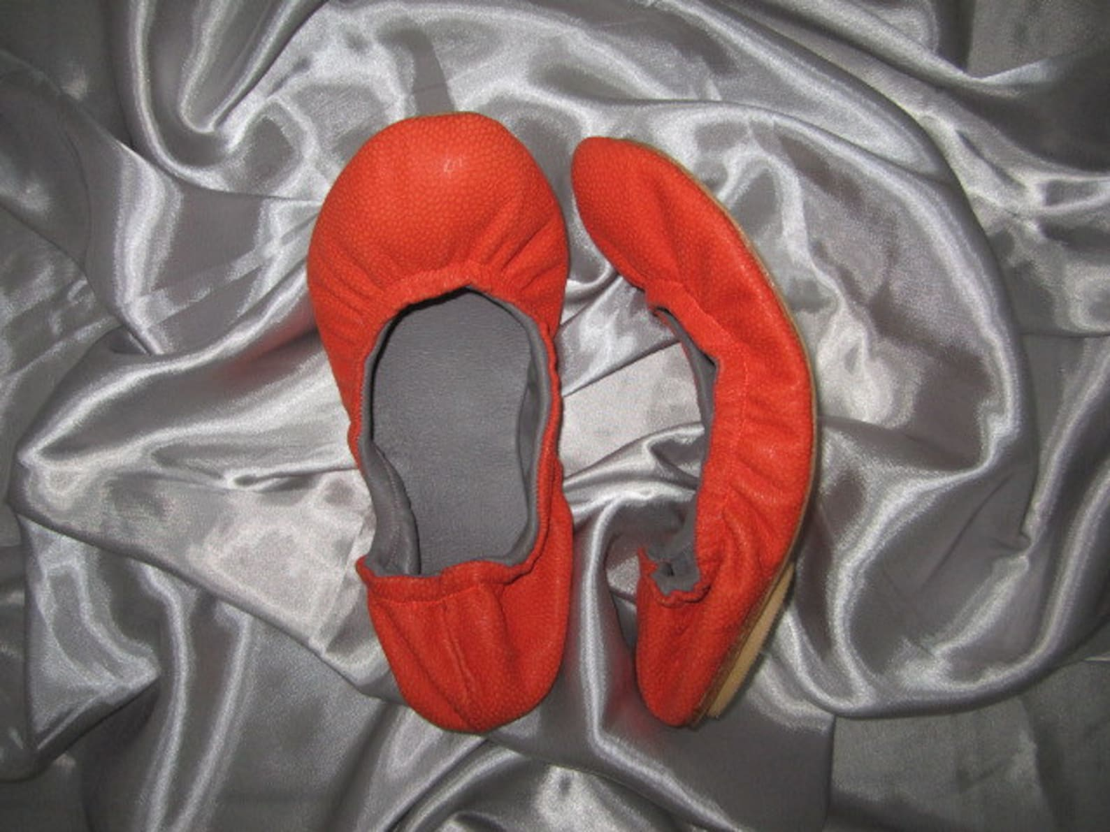 red leather women's ballet flats, women's leather flat shoes, leather flats, ballerina flats