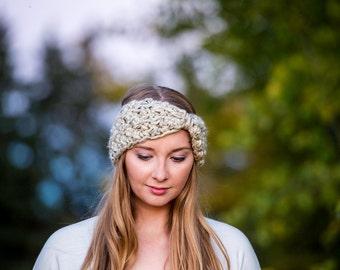 Ear warmer, Headband, Crocheted