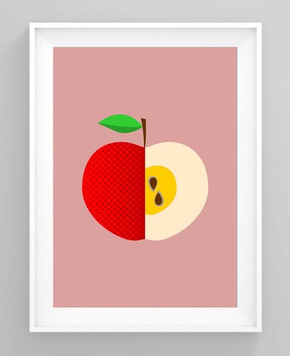Küche Print Pop Art Mitte Jahrhundert Moderne