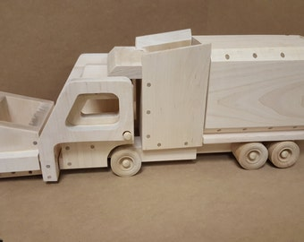 715d5ae1dbe8 Wood Toy Plan - Garbage Truck