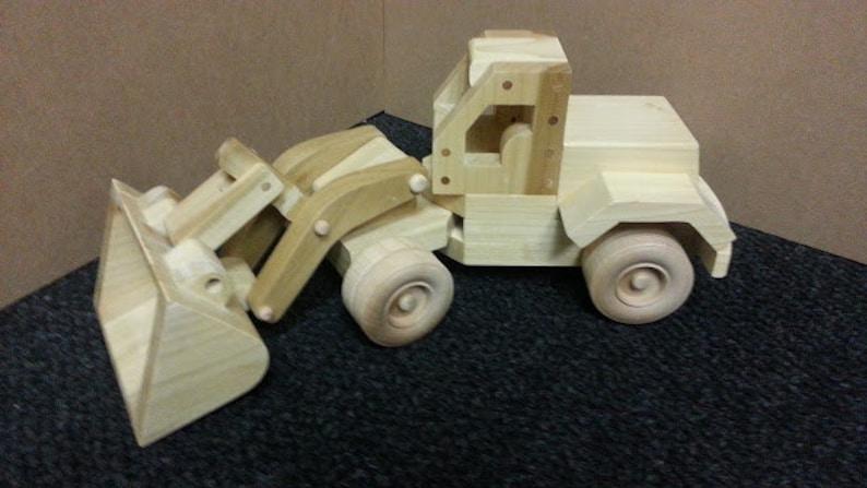 Wood Toy Plan - Front End Loader