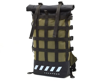 2716668187 Travel backpack   Waterproof outdoor backpack   Hiking backpack   Gift for  travellers   City travel backpack   Bicycle backpack   Roll top
