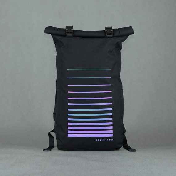 739b0e0a5 Roll Top Hipster Backpack / Laptop Backpack / Travel backpack   Etsy