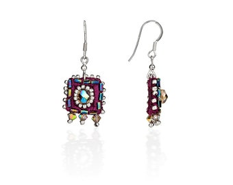 Square Sparkle Earrings
