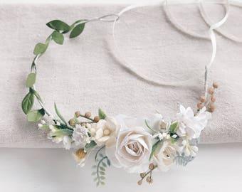 Flower crown, flower girl crown, flower crown wedding, flower crown for baby, flower crown girls, flower crown for baby