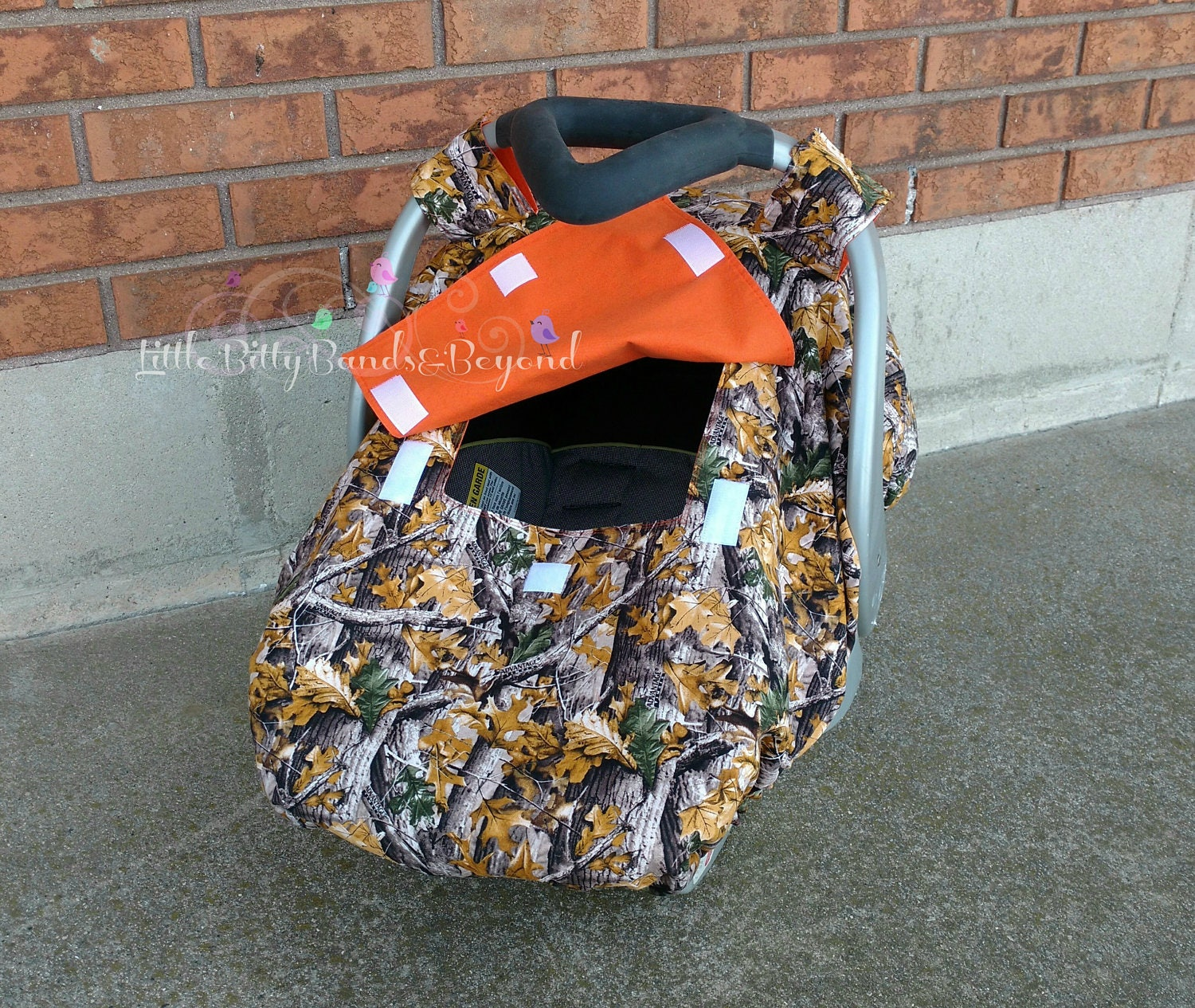 Spring Summer Fall Fitted Car Seat Canopy Realtree Camo Etsy