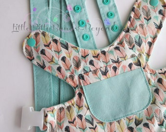 Baby doll carrier | Bear carrier | Baby doll diaper | Waterproof Baby Alive diapers | Feathers in tulip | Mini triangles