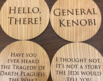 Hello There... Coasters (Set of 4)