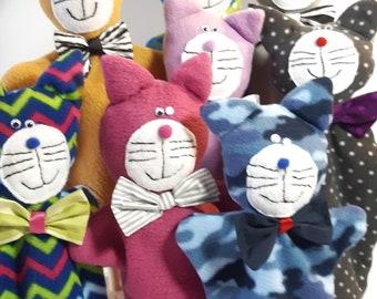 Fleece puppet, very soft