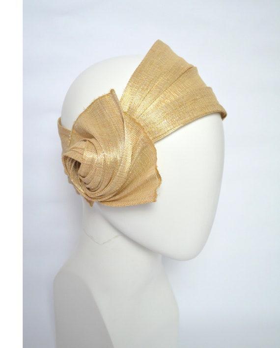 ST 8 Stirnband Ohrwärmer STRICK Meliert Haarband Kopfschmuck Damen Headband