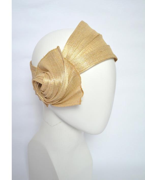 Turban Haarband Retro 20er Kopfschmuck Charleston Motto Party