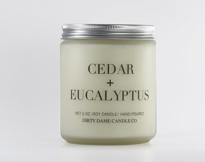 Cedar + Eucalyptus Candle