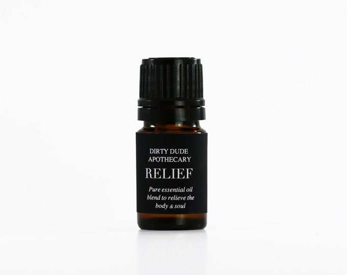Relief aromatherapy pure essential oil blend
