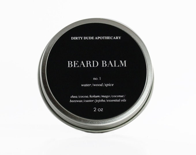 Dirty Dude Beard Balm No.1