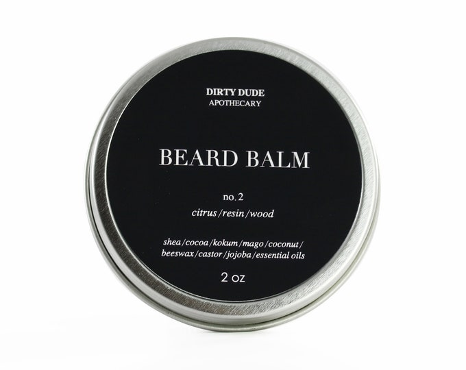 Dirty Dude Beard Balm No.2