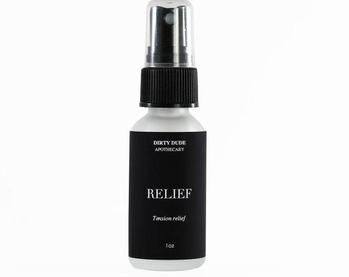 Relief aromatherapy spray