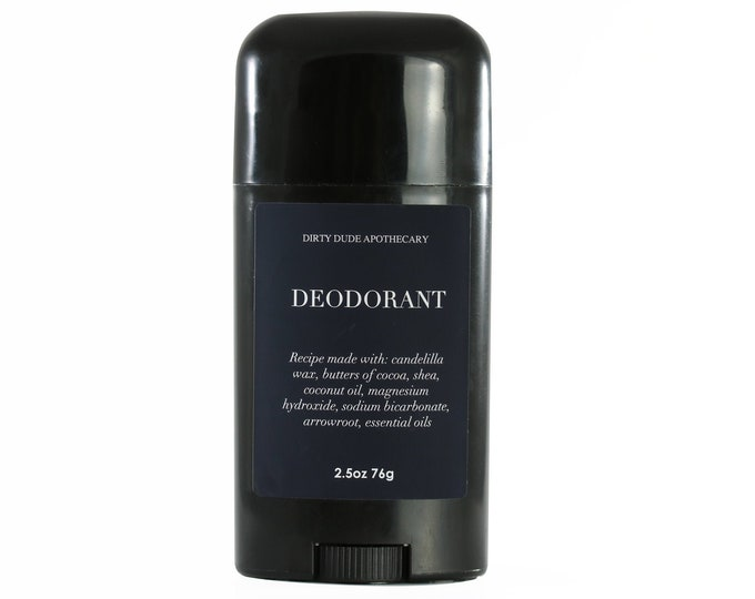 Dirty Dude Natural Vegan Deodorant