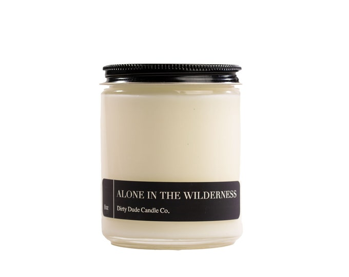 ALONE in the WILDERNESS CANDLE