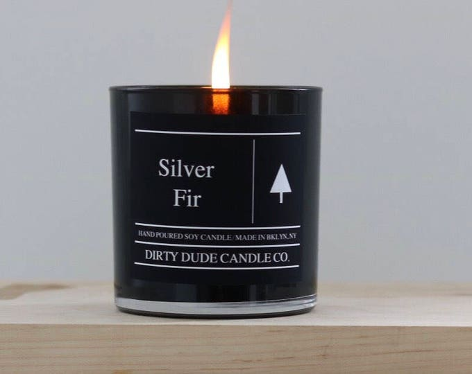 Silver Fir Soy Candle