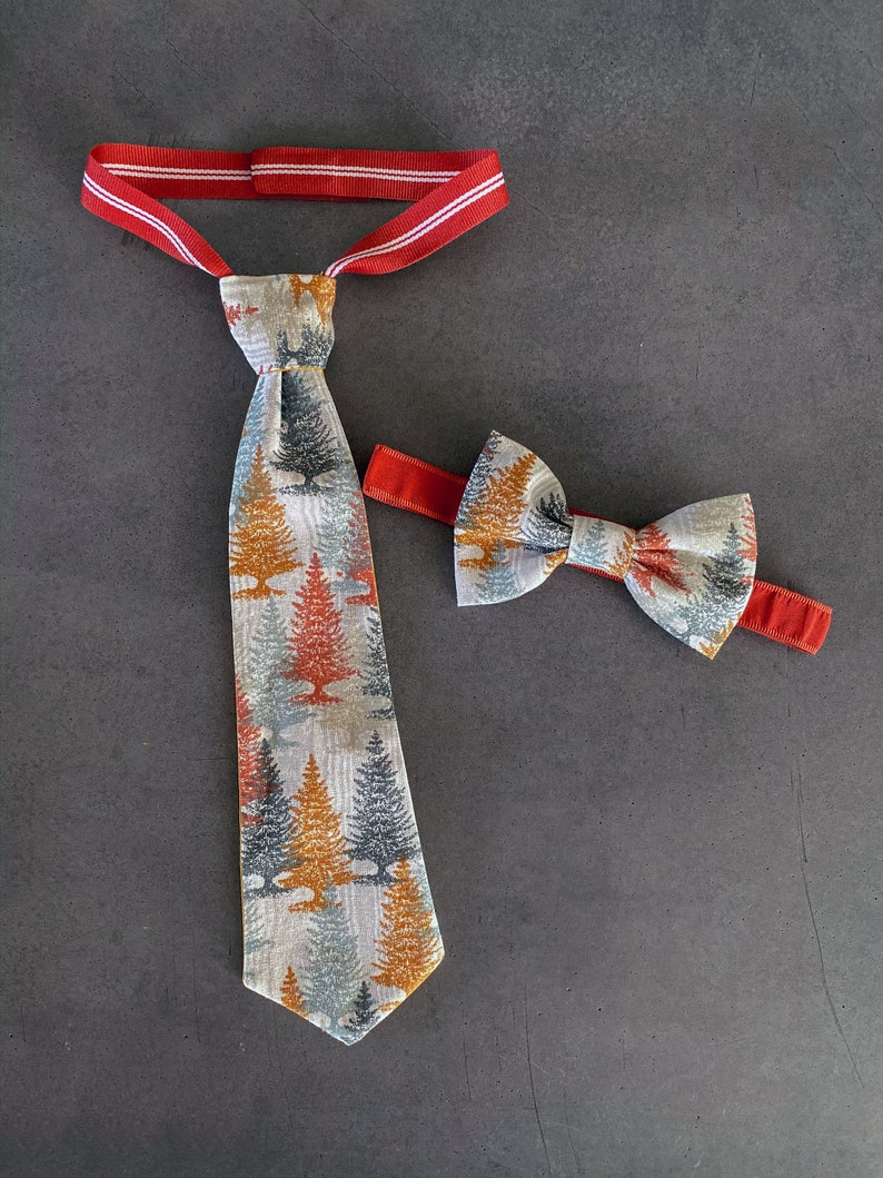 Fall Forrest Harvest  Tie  Boys Neck Tie  Baby's 1st image 0