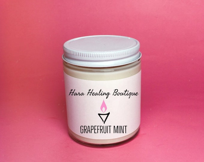 Grapefruit Mint Vegan Candle