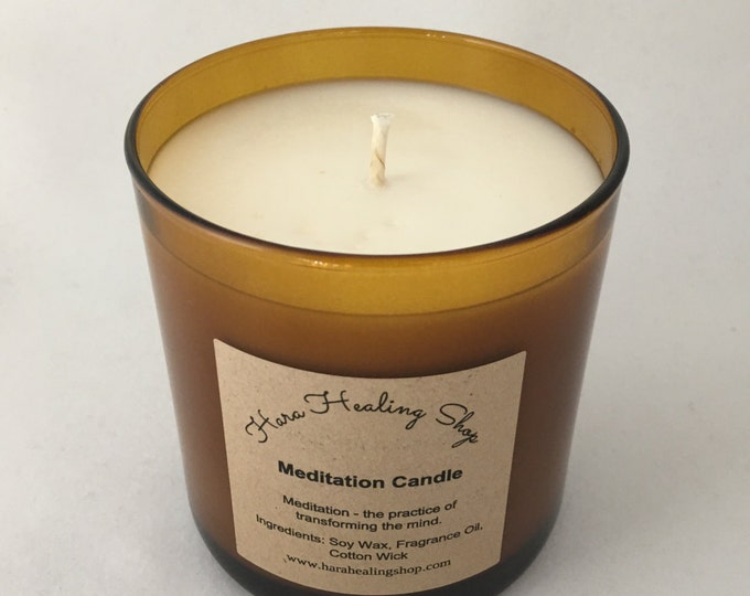 Frankincense & Myrrh Meditation candle