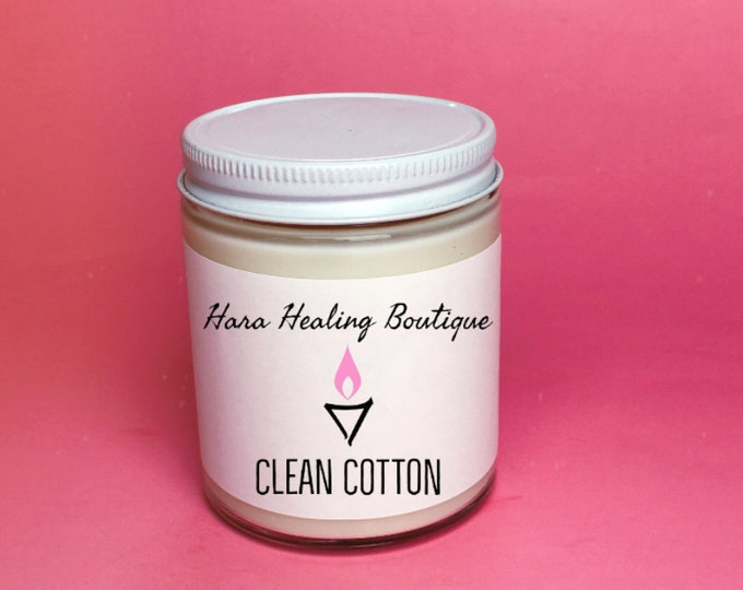 Clean Cotton Vegan Candle