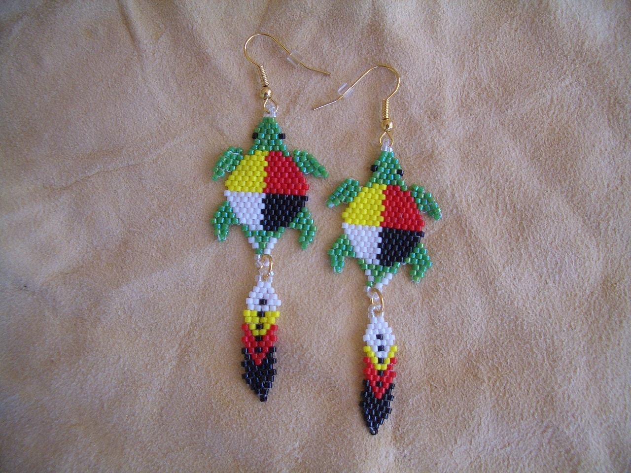 Native American Beaded Earrings Patterns Free New Decorating