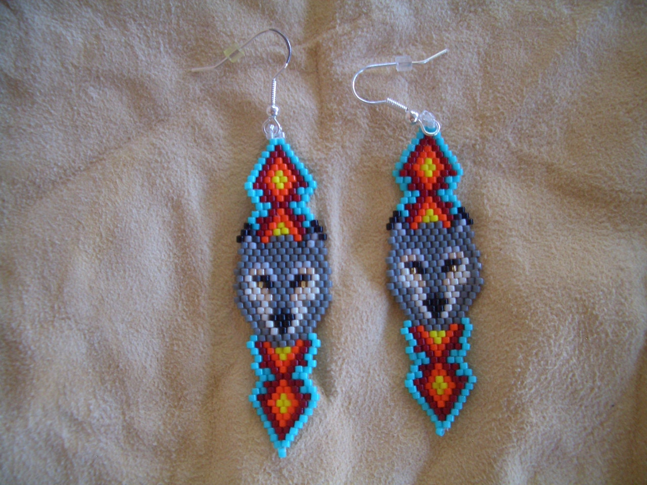 Native American Beaded Earrings Patterns Free Awesome Decorating Design