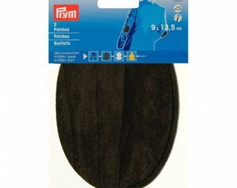 Elbow patch of quality, imitation suede 9 x 13, 5 cm