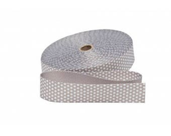 Strap with 30mm grey dots