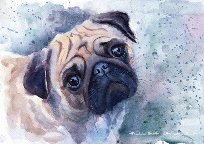 Custom Pet portrait Custom Pet Painting Custom dog portrait image 0