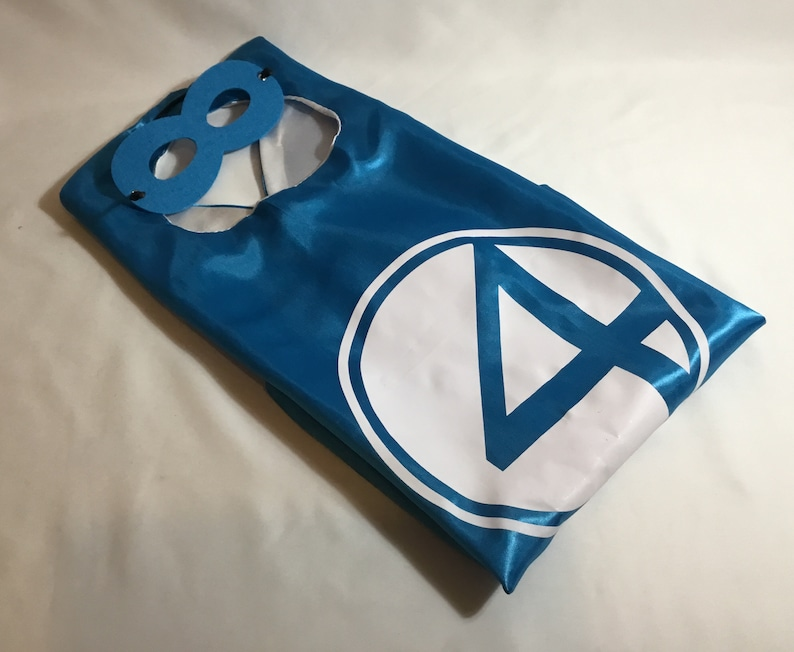 Fantastic Four cape and mask, personalized cape, children's capes, party  favors, Personalized