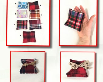 Soft Flannel Handwarmers, Soft Rice Pack Warmers, Square Pocket Hand Warmers, Cold Relief Warm Rice Pack, Microwaveable Handwarmers