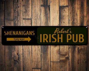 Rustic Ireland Sign-Good Friends