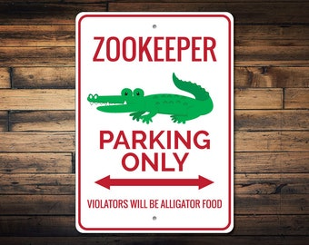 alligator sign etsy