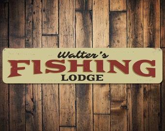 EAT SLEEP FISH Light Sign Antique Fishing Lure Lodge Fisherman Cabin Decor  NEW
