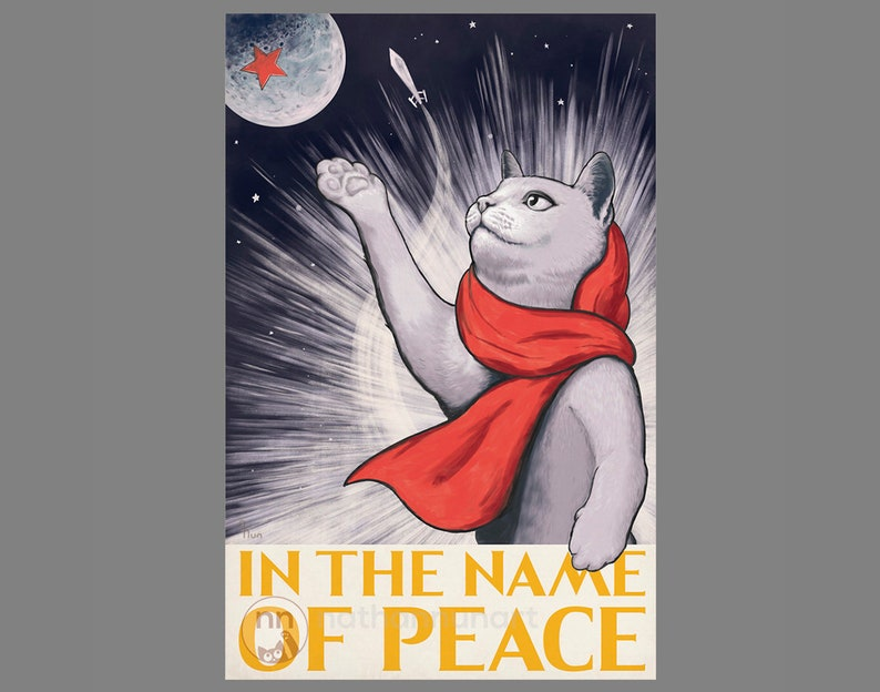Soviet Cat In the Name of Peace