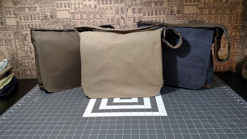 quality construction Sturdy fabrics Commuter  Messenger bags Reversible Unisex unique styles.