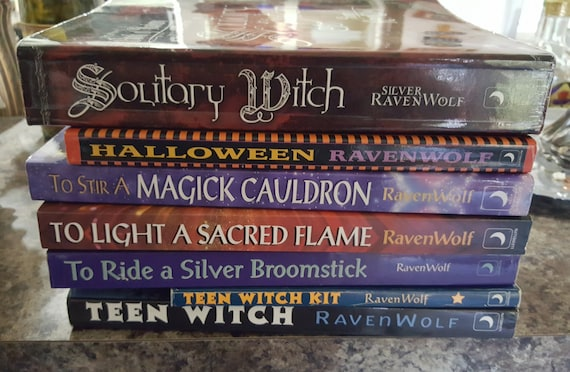 Silver RavenWolf Wiccan Book Lot