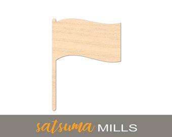Wooden flagpole | Etsy