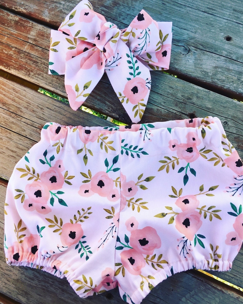baby girl bloomers newborn bloomers baby shorts bloomer shorts toddler shorts Baby Bloomers newborn shorts bubble shorts